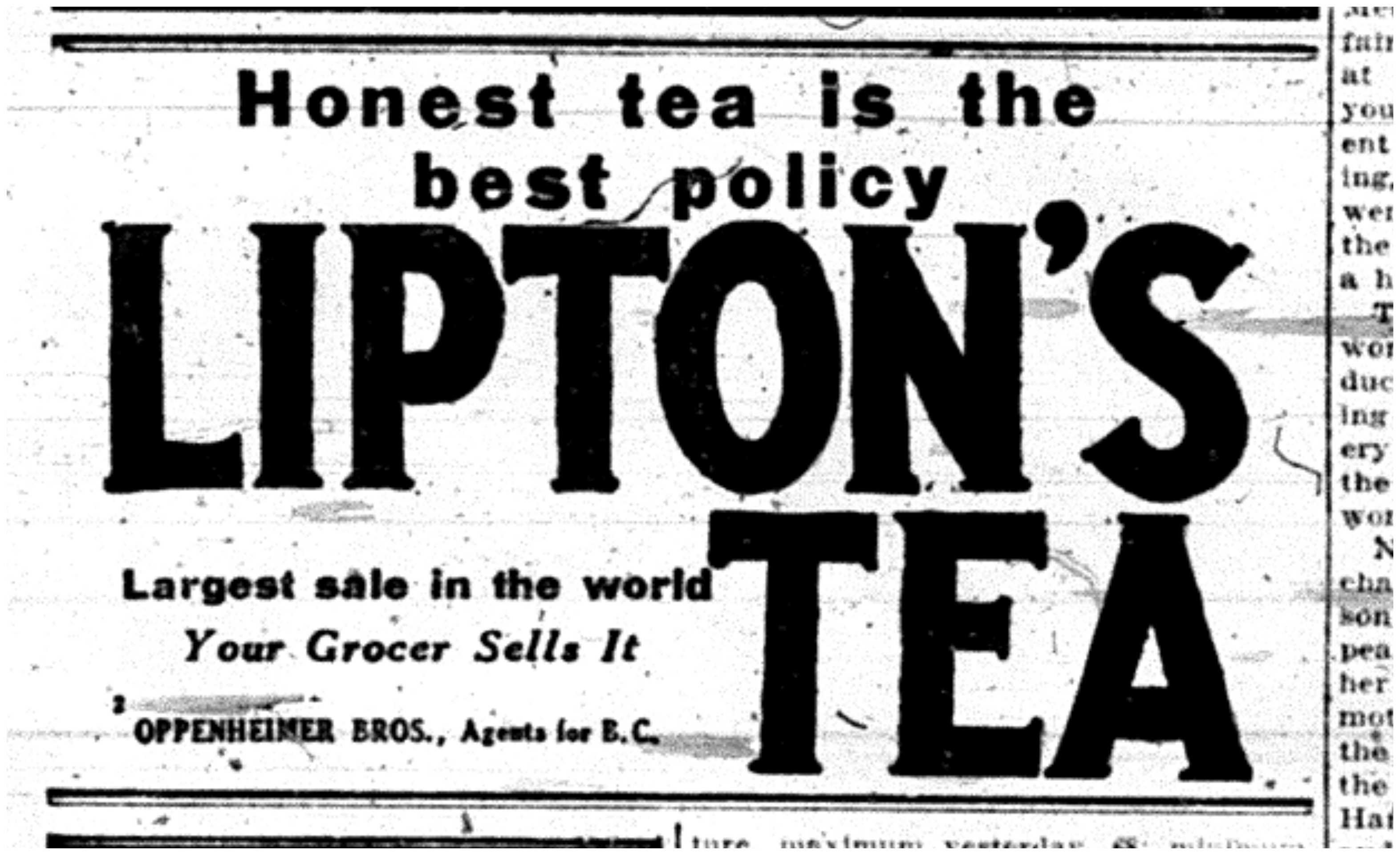 """""""Honest Tea is the Best Policy"""""""