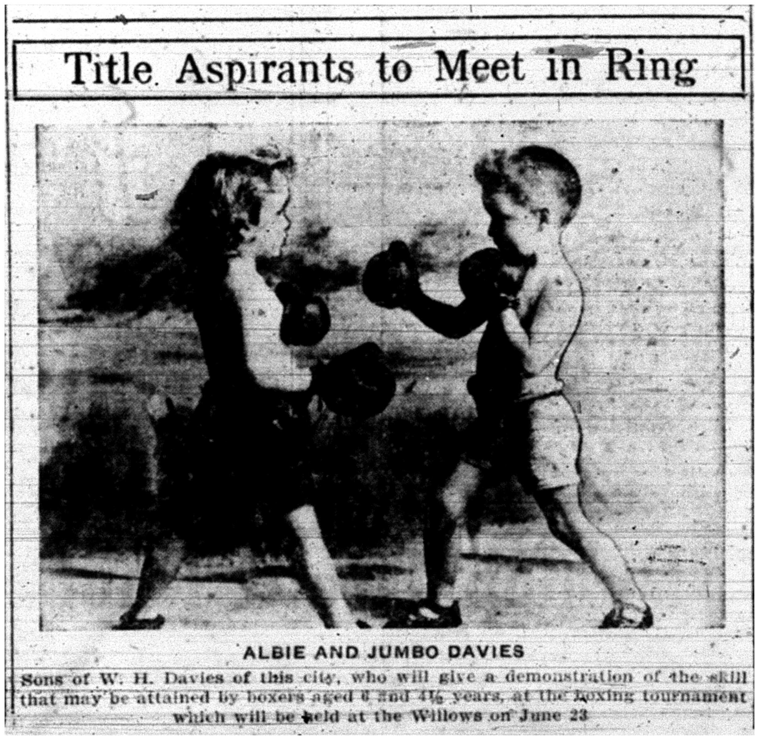 """""""Title Aspirants to Meet in Ring"""""""