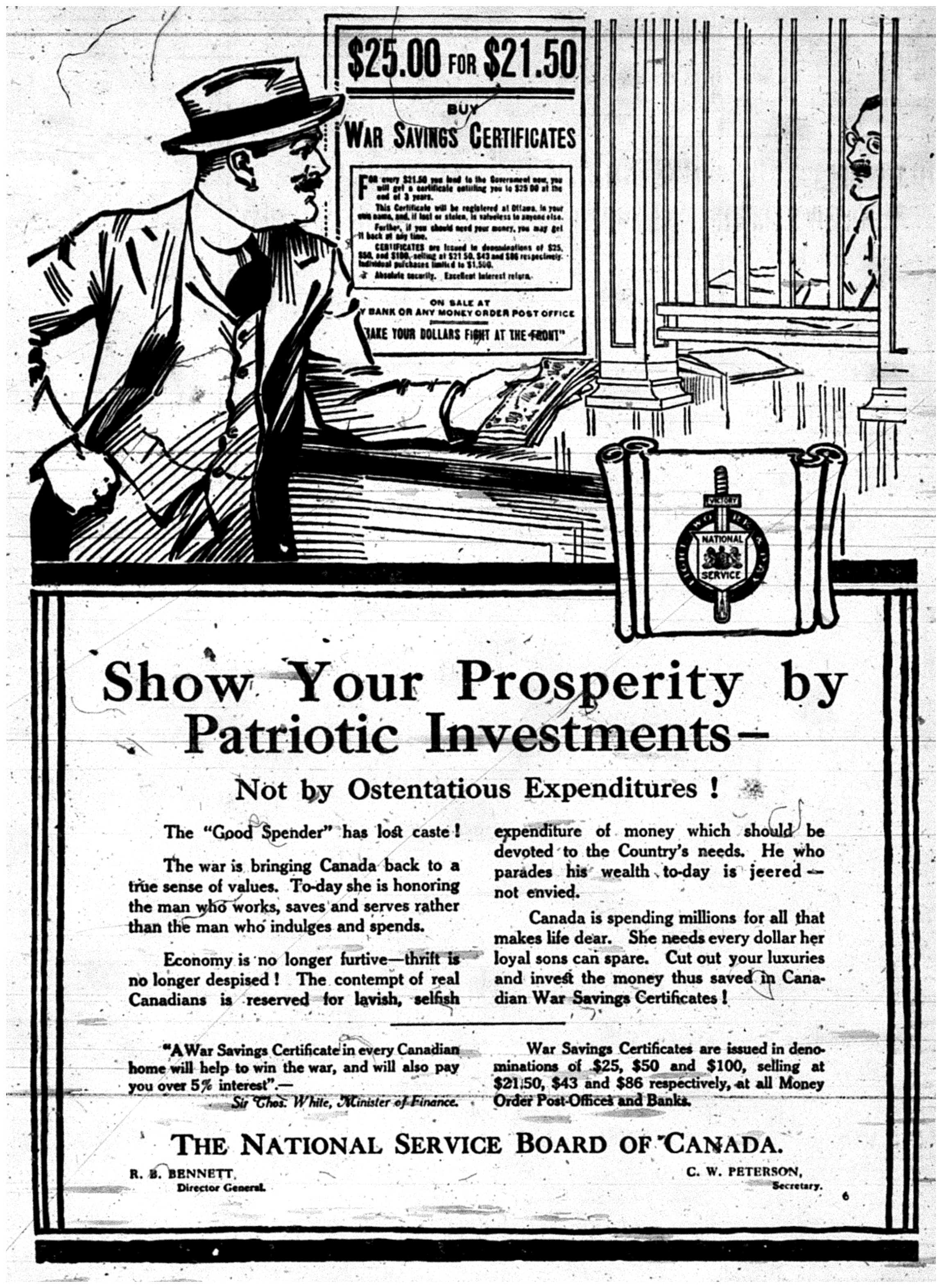 """Show Your Prosperity by Patriotic Investment"""
