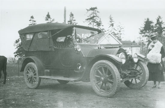 Mileva Todd and 1917 Cadillac