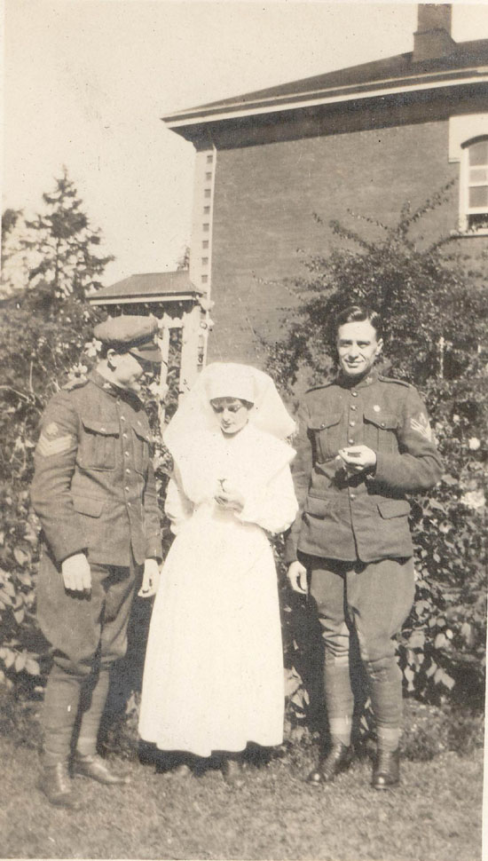 Nurse and Soldiers