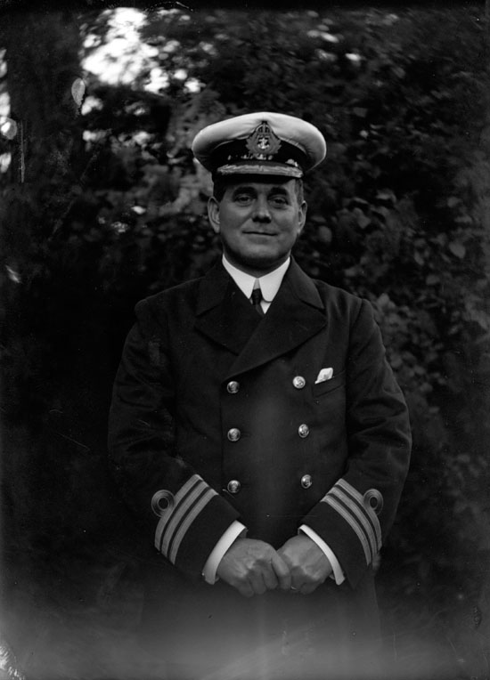 George Edward Andrew Engineer, Commander of HMS Kent
