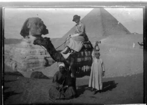 Gladys Carvolth at the Sphinx