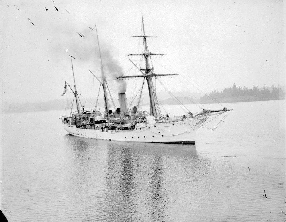 HMCS Shearwater at Esquimalt.