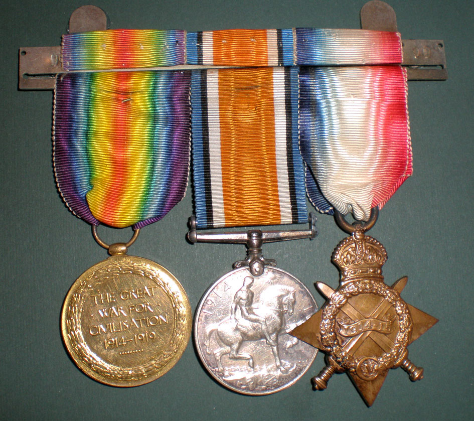 Roy Chandler's Medals
