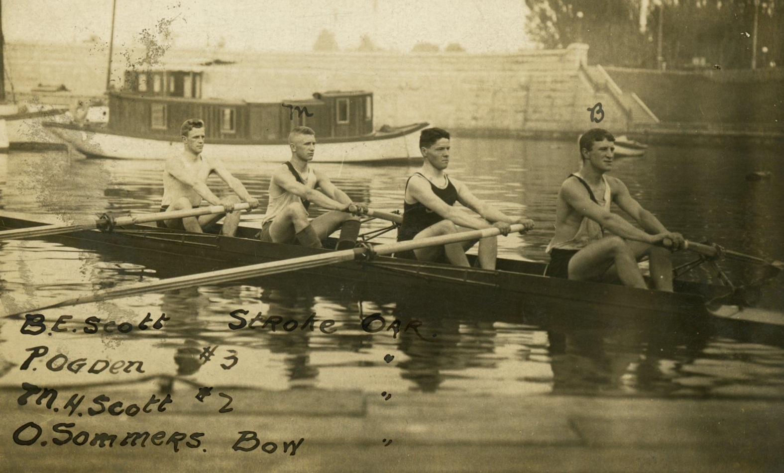 James Bay Athletic Association Rowers