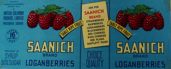 """""""Saanich Brand Loganberries"""""""