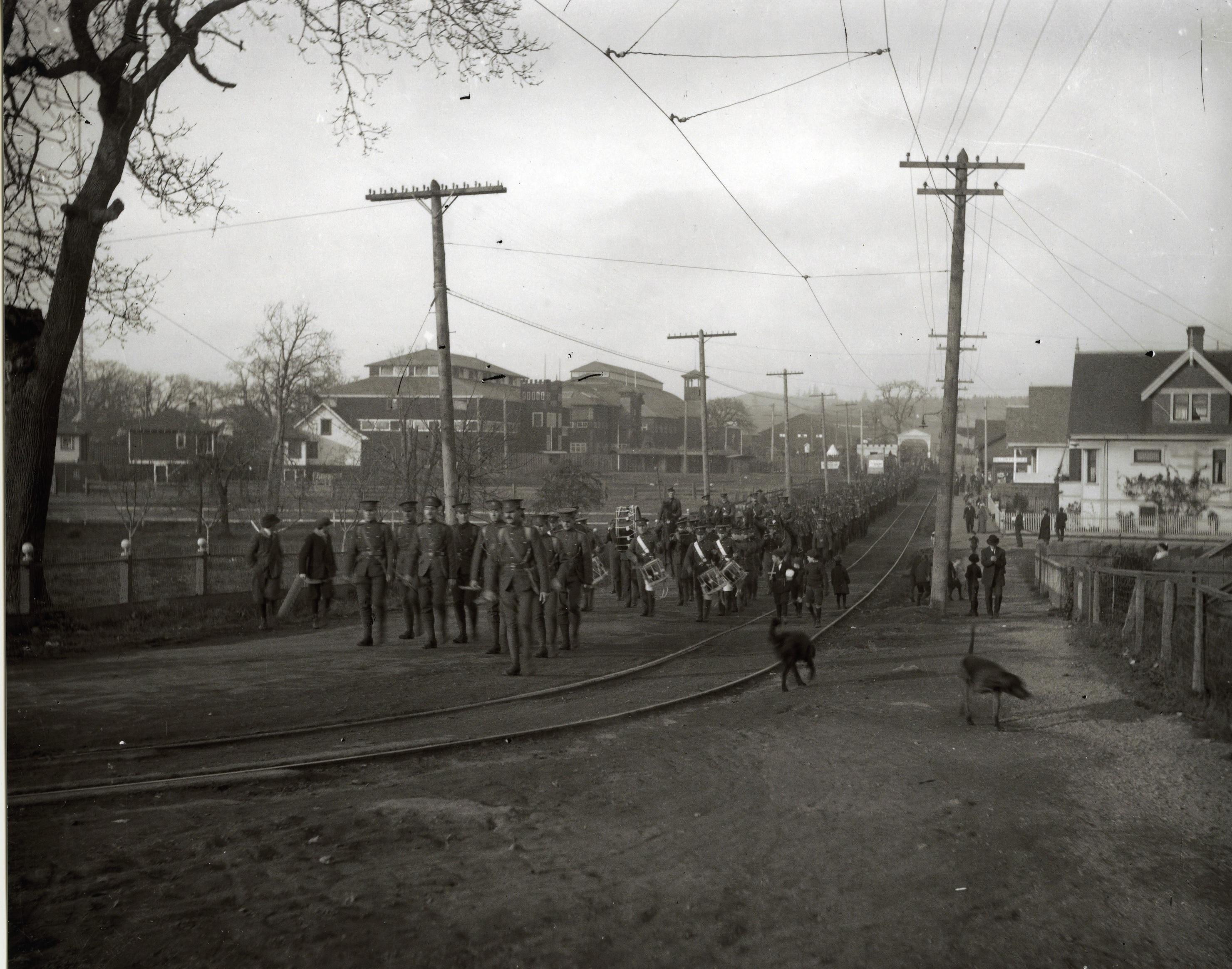 Parade on Cadboro Bay Road