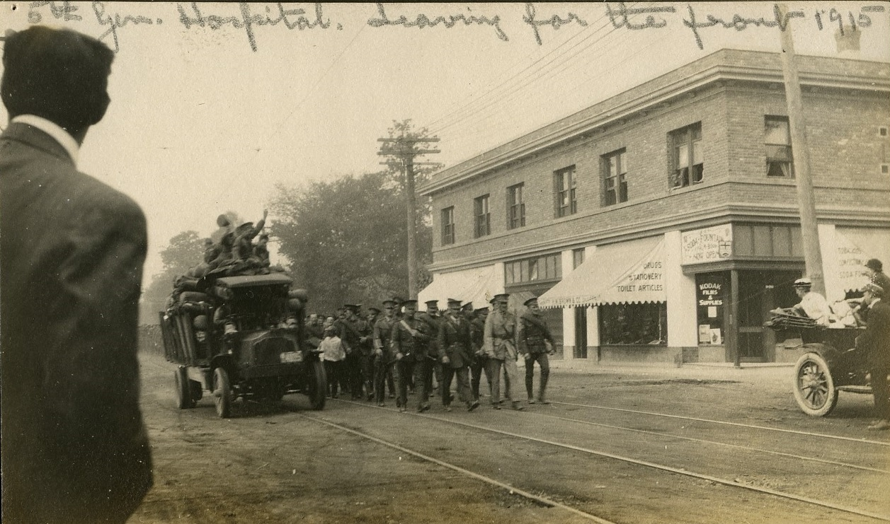 5th General Hospital Leaving for the Front