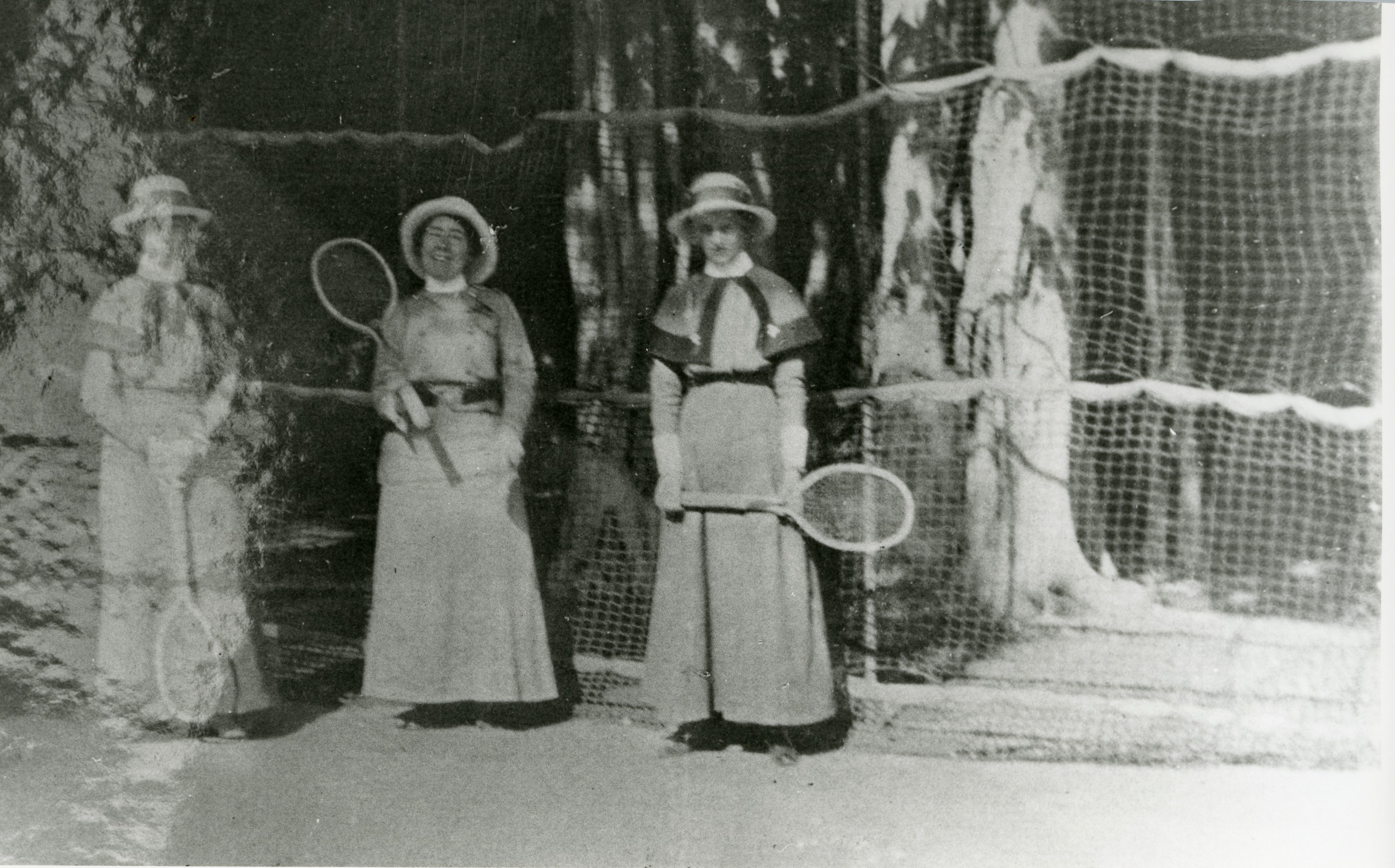 Tennis at Pasha's Palace