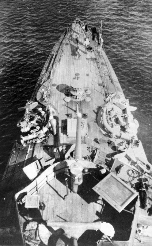The Foc'sle, HMCS Rainbow