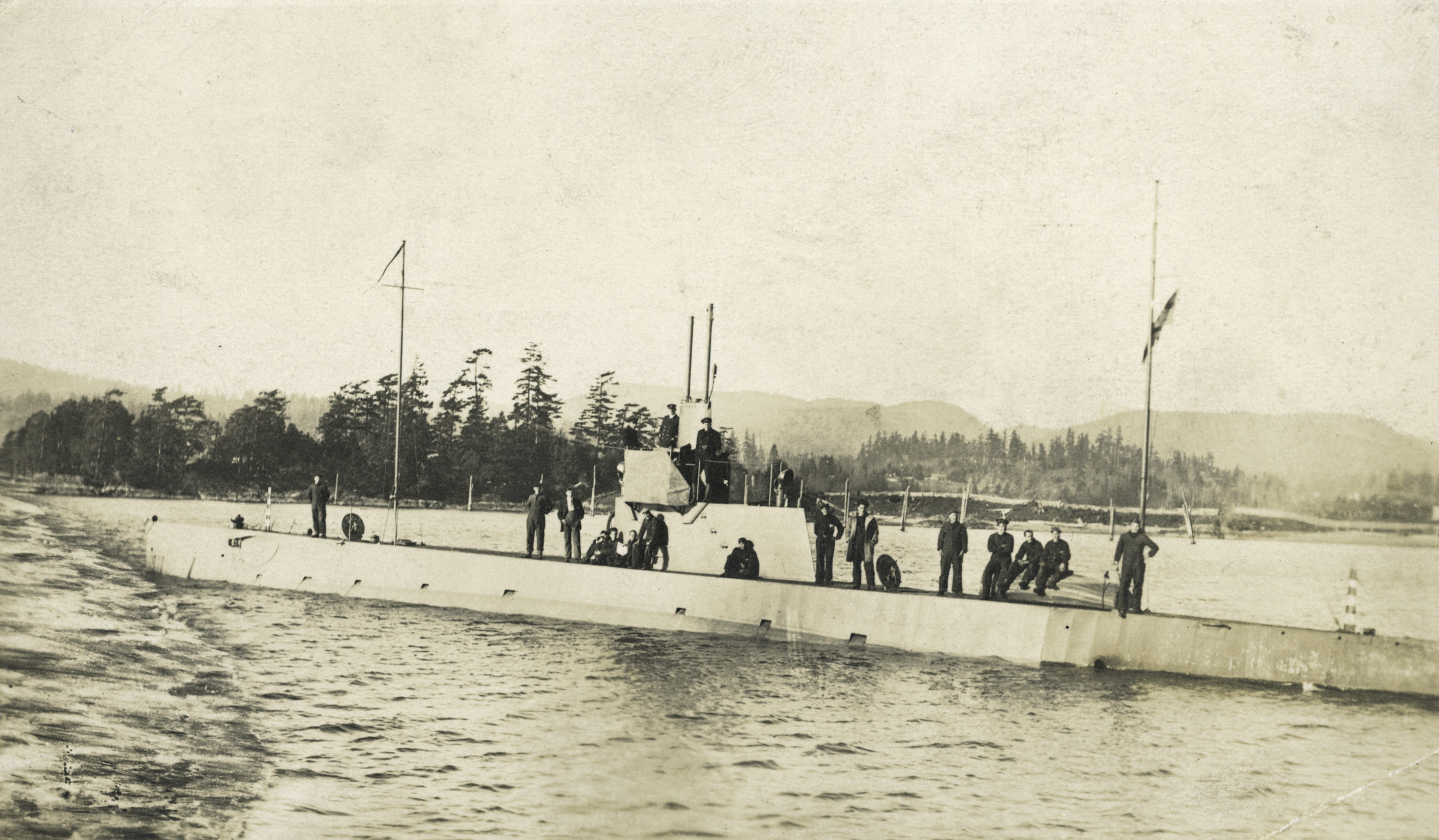 HMC Submarine No. 2 at Esquimalt.