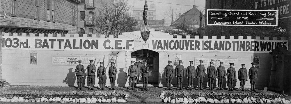 103rd Battalion, Canadian Expeditionary Force (C.E.F.).