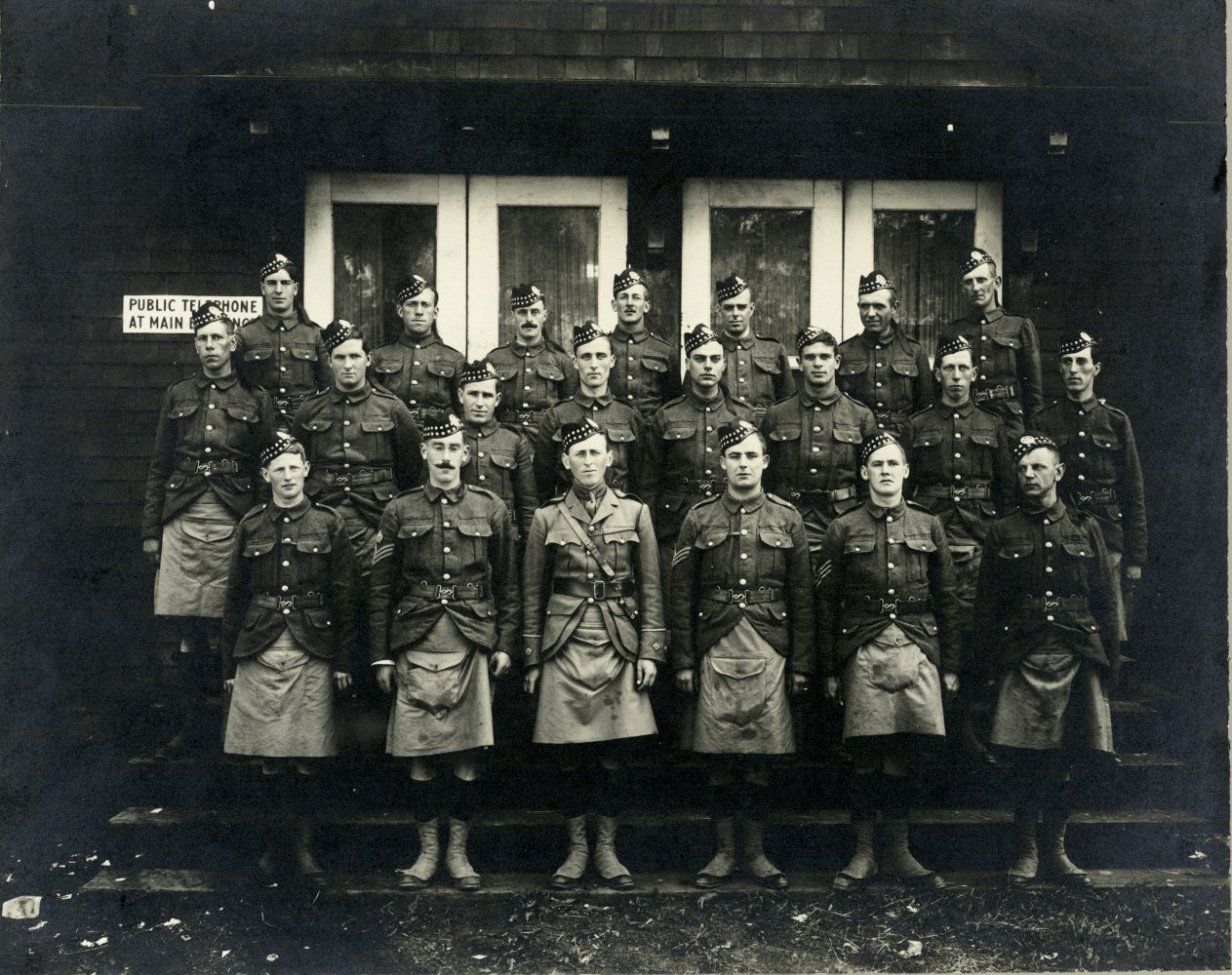 The Gordon Highlanders.