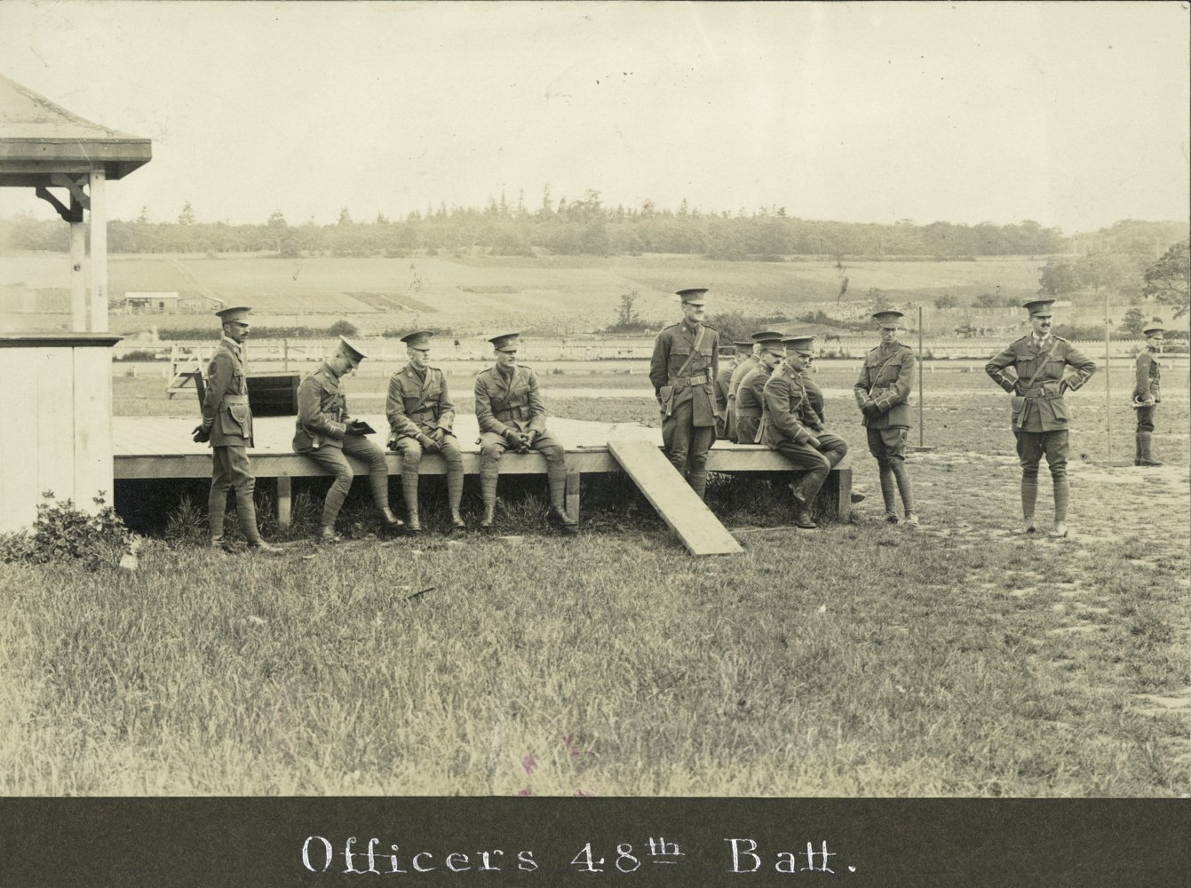 Officers of the 48th Battalion.
