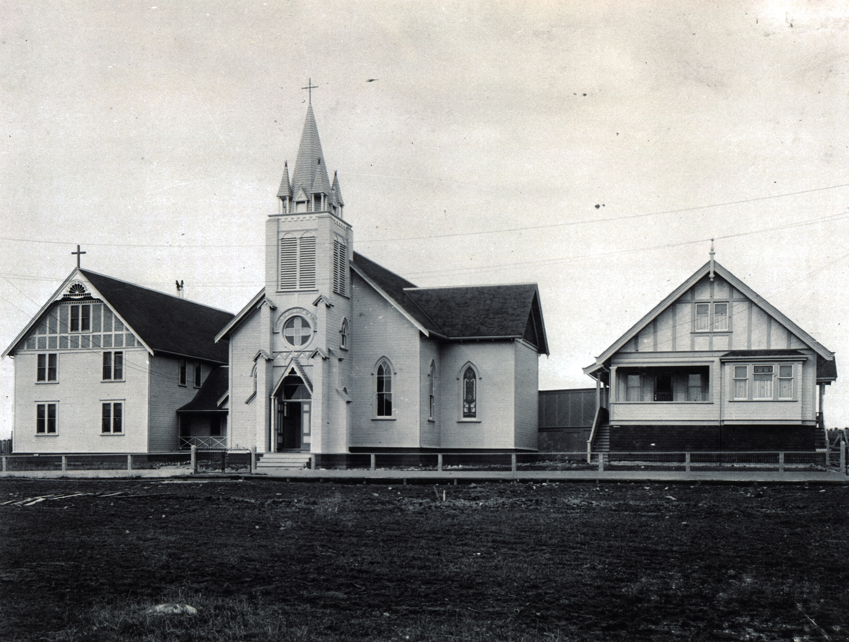 Our Lady of the Lourdes Church and Convent.