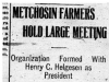 """Metchosin Farmers Hold Large Meeting"""