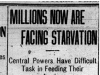 """Millions Now are Facing Starvation"""