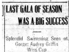 """Last Gala of Season was a Big Success"""