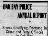 """Oak Bay Police Annual Report"""
