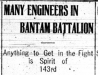 """Many Engineers in Bantam Battalion"""