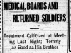 """Medical Boards and Returned Soldiers"""