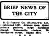 """Brief News of the City"""