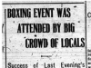 """Boxing Event was Attended by Big Crowd of Locals"""