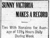 """""""Sunny Victoria Makes a Record"""""""