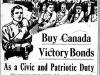 """""""Buy Canada Victory Bonds"""""""