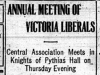 """Annual Meeting of Victoria Liberals"""