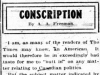 """Conscription"""