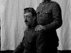Portrait of two soldiers