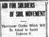 """Aid for Soldiers of Soil Movement"""