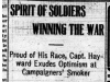"""Spirit of Soldiers Winning the War"""