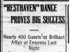 """'Resthaven' Dance Proves Big Success"""
