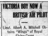 """Victoria Boy Now A British Air Pilot"""