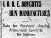 """""""I.O.D.E. Boycotts Hun Manufactures"""""""