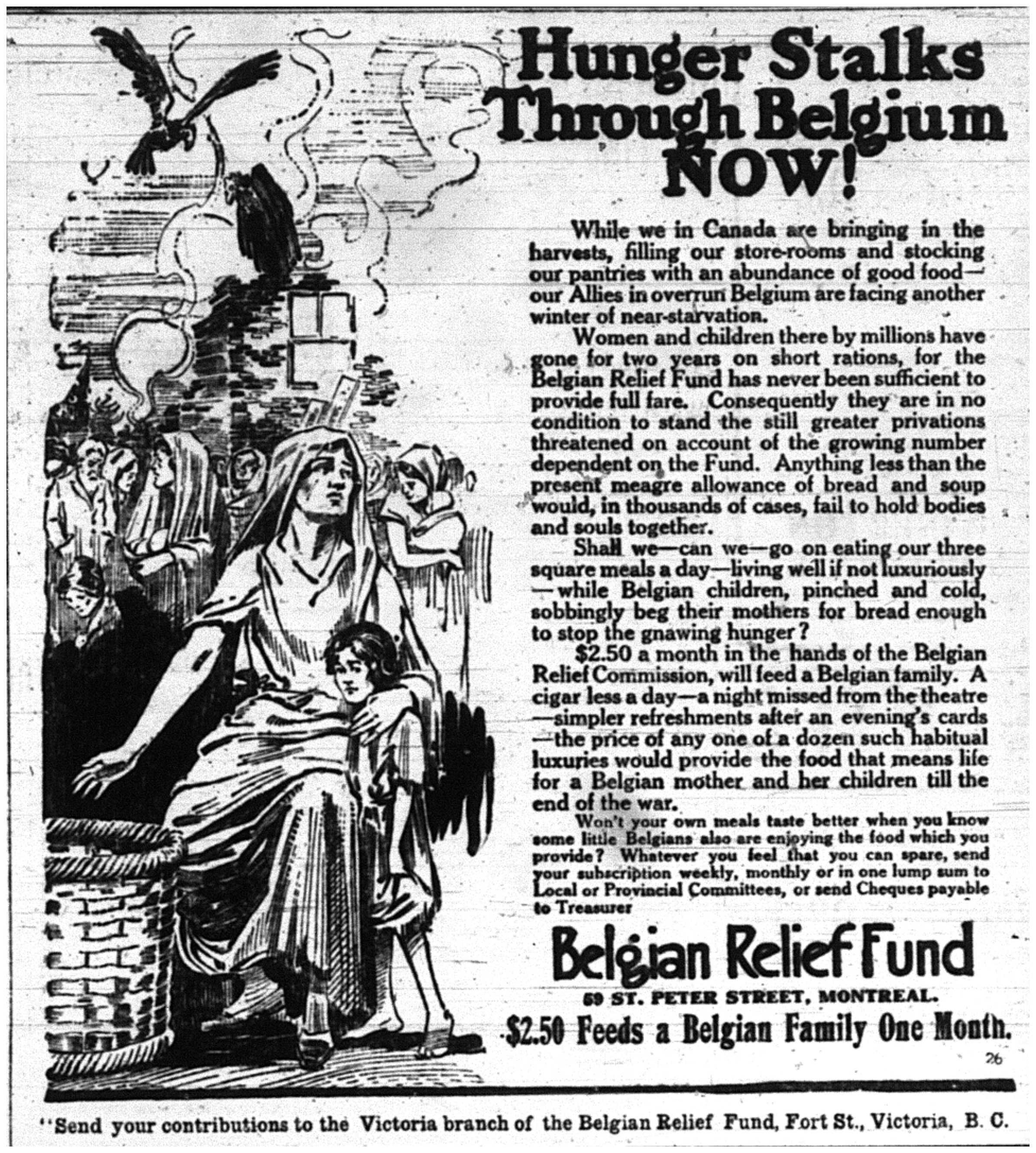 Hunger Stalks Belgium