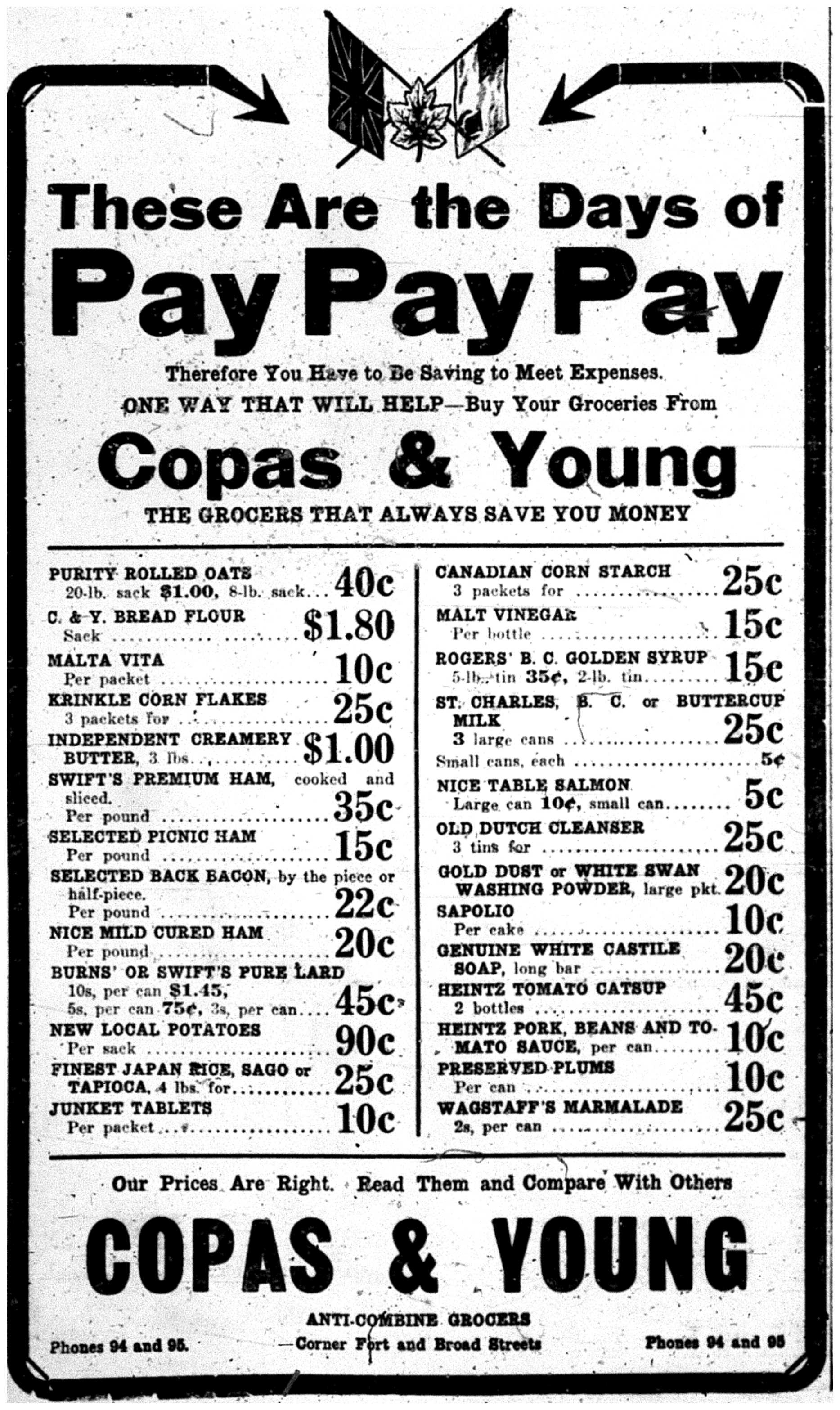 Pay Pay Pay Ad