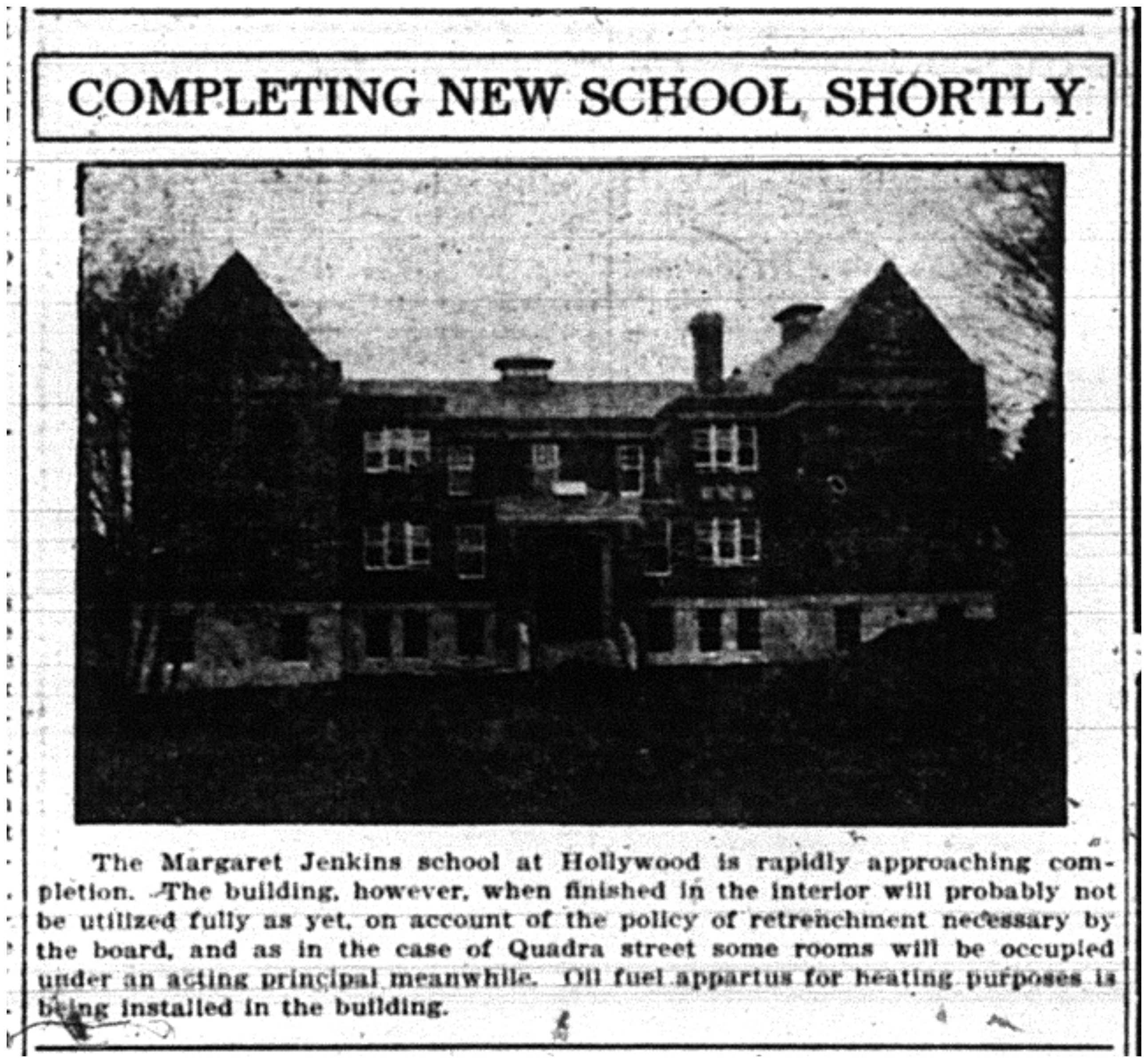 Margaret Jenkins School