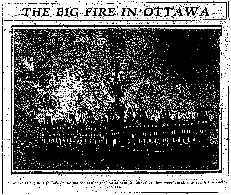 Parliament Fire