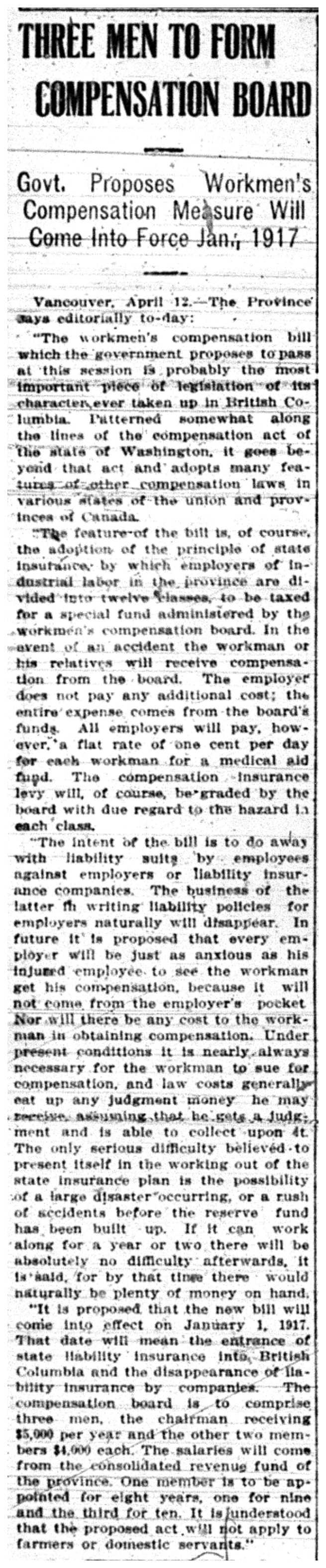 Compensation Board Organization