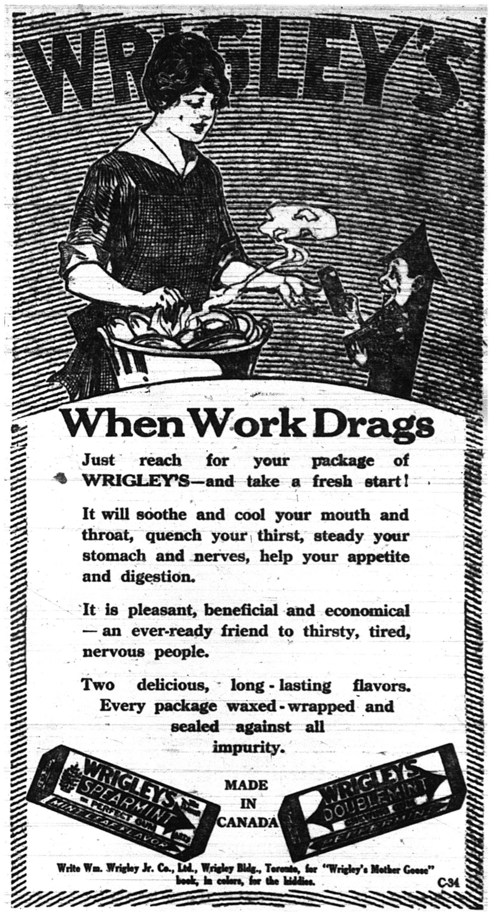 Wrigley's Ad