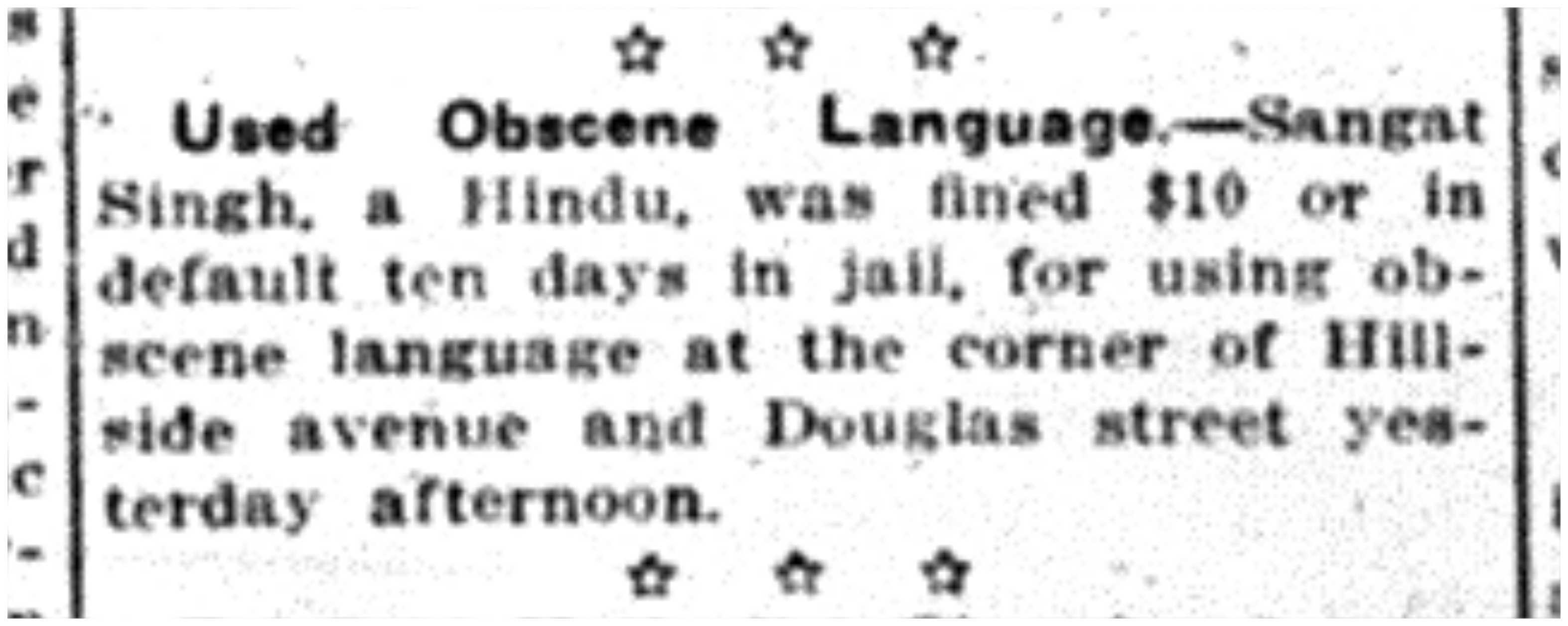 Unusual Crime Report