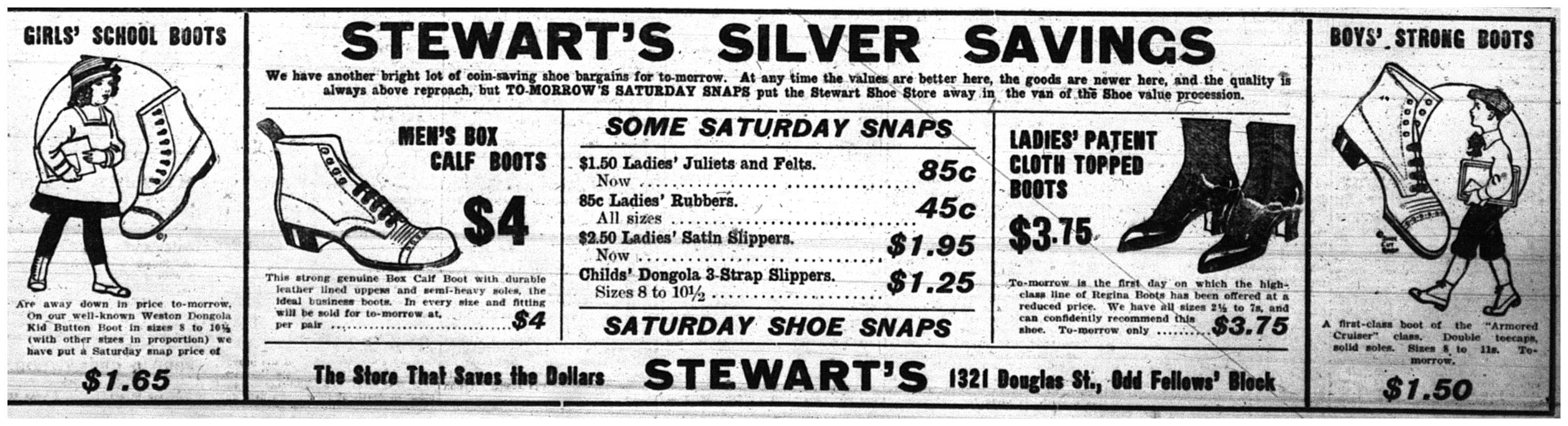 Stewart's Silver Savings Ad
