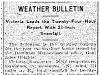 Weather Bulletin