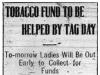 Tobacco Fundraising