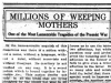 Millions of Weeping Mothers