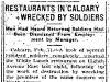 Riots in Calgary